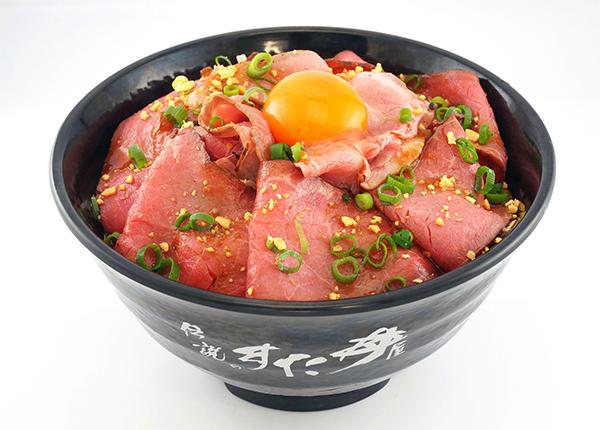 Wローストビーフ丼商品