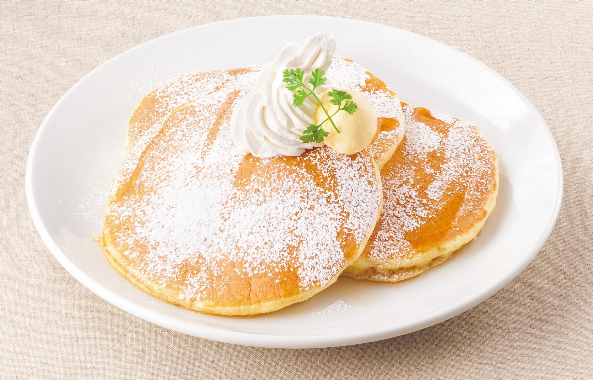 <もちふわ食感>アメリカンパンケーキ